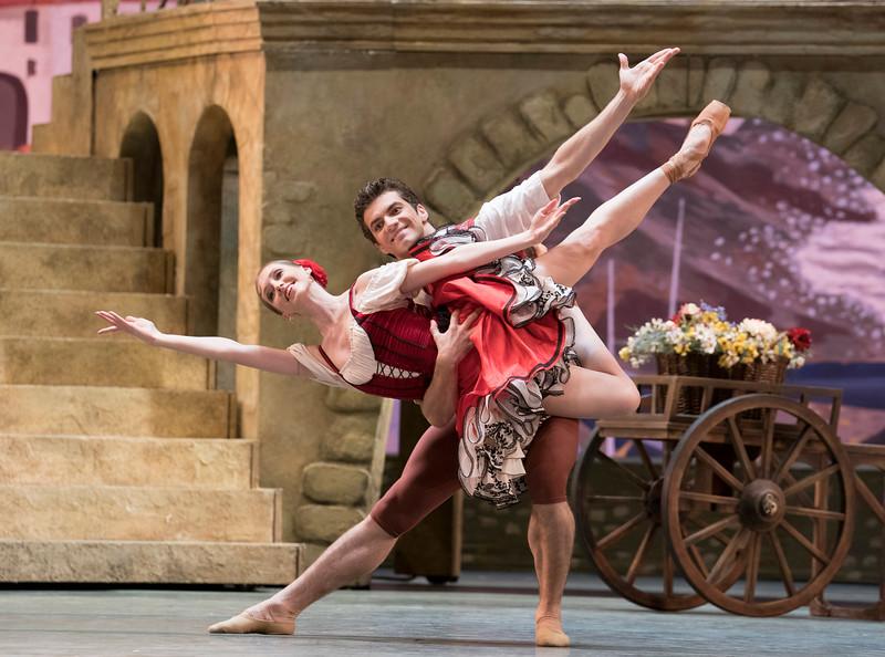 'Don Quixote' Ballet performed by Bolshoi Ballet at the Royal Opera House, London, UK