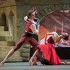 'Don Quixite' Ballet peformed by the Bolshoi Ballet at the Royal Opera House, London, UK