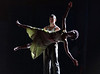 Drawn From Within. Dance performed by Rambert Dance Company at Sadler's Wells Theatre, London, UK