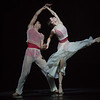 'Embrace' Dance choreographed by George Williamson, performed bt the Birmingham Royal Ballet at Sadler's Wells Theatre, London, UK