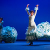 'Gala Flamenco' Dance performed at Sadler's Wells Theatre, London UK