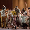 'Goat' Dance choreographed by Ben Duke, performed by Rambert Dance at Sadler's Wells Theatre, London, UK