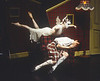 'Highland Fling' Dance performed by Adventures in Motion Pictures Dance Company in the Donmar Theatre, London, UK 1995