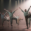 'Grand Finale' Dance performed by Hofesh Shechter Dance Company at Sadler's Wells Theatre, London, UK