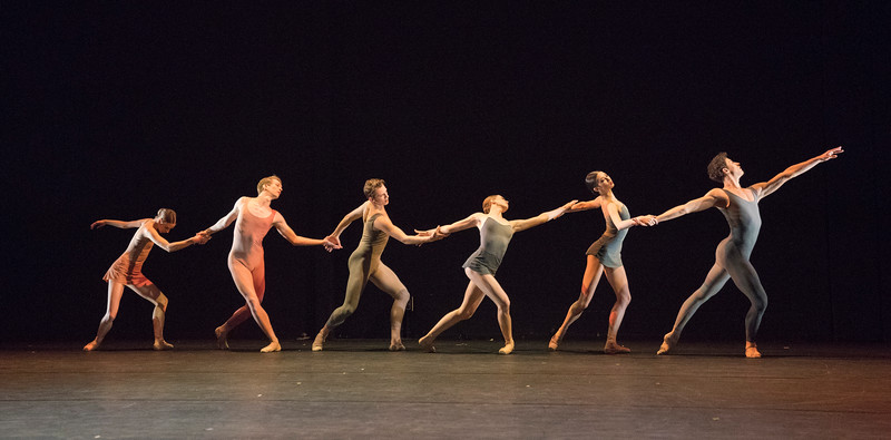 'International Draft Works' Dance performed at the Linbury Theatre, Royal Opera House, London, UK