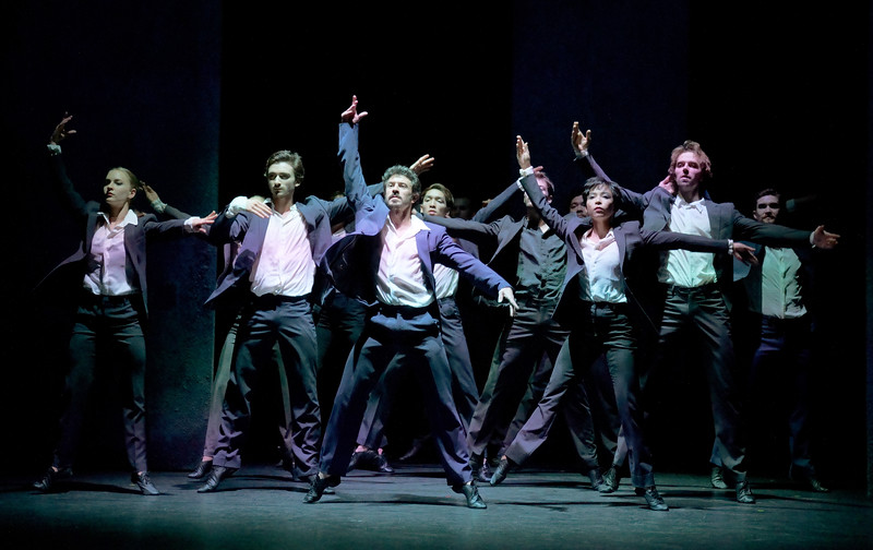 'Rediscover Les Beaux Dormants (The Sleeping Beauties)' performed by le Ballet de l'Opera national du Rhin at the Linbury Theatre, Royal Opera House, London, UK