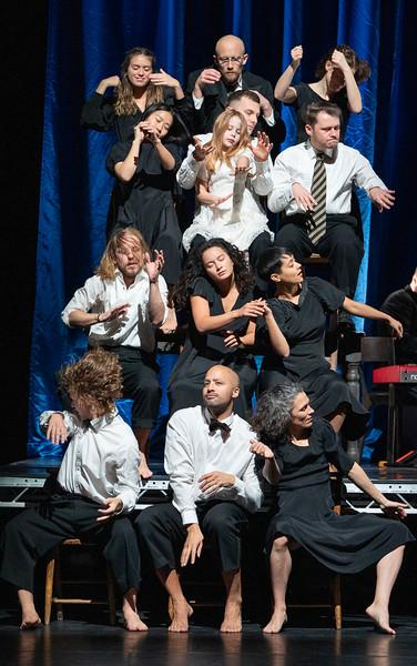 'MAM' Dance created by Michael Keegan-Dolan/ Teac Damsa performed at Sadler's Wells Theatre, London, UK