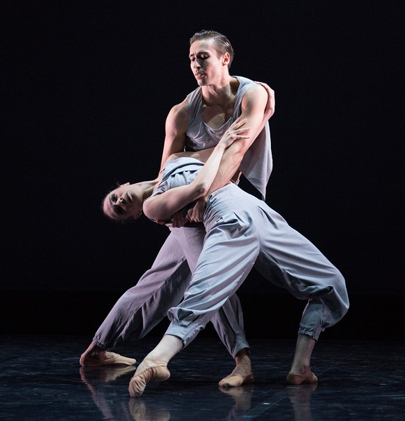 'Mamela' Dance performed by Northern Ballet at the Linbury Theatre, Royal Opera House, London, UK
