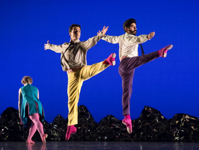 'Pepperland' Dance choreographed by Mark Morris, performed by Mark Morris Dance Company at Sadler's Wells Theatre, London, UK