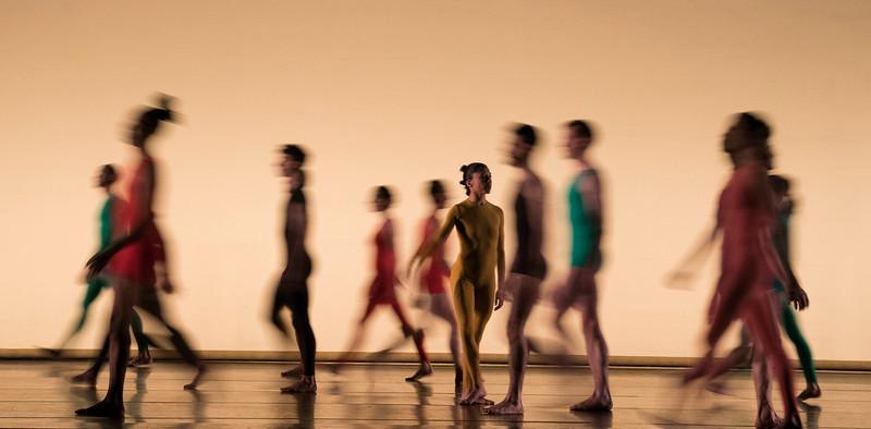 'Merce Cunningham Centennial' Night of 100 Solos;A Centennial Event. Dance performed at the Barbican Theatre, London, UK
