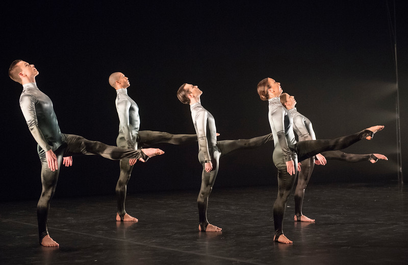 'to a simple, rock 'n' roll ...song' Dance performed by the Michael Clark Company