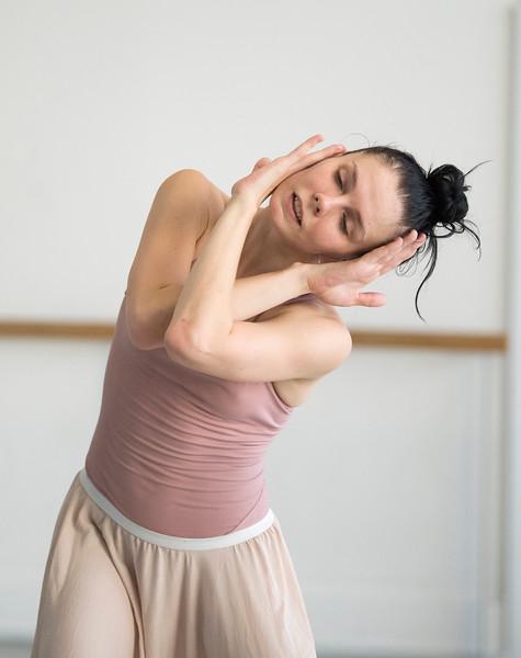 Pure Dance rehearsals including Natalia Osipova