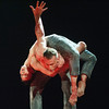 Natalia Osipova performes dance 'Qutb' choreographed by Sid Larbi Cherkaoui at Sadler's Wells Theatre, London, UK