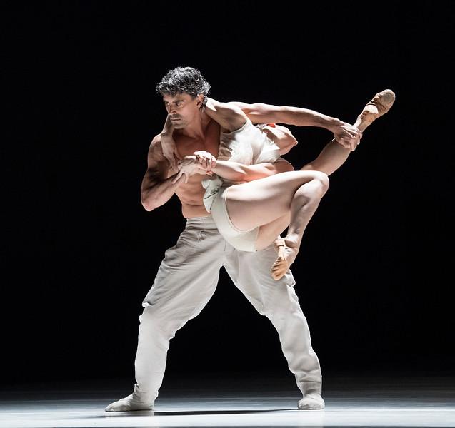 Nederlands Dans Theatre 1 performing at Sadler's Wells Theatre, London, UK