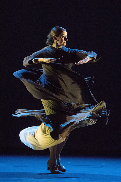 'Patrias' performed by Paco Pena Flamenco Dance Company performed at Sadler's Wells Theatre, London, UK