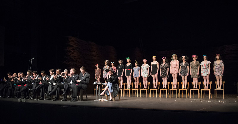'Viktor' Dance performed by Tanztheater Wuppertal Pina Bausch at Sadler's Wills Theatre, London, UK