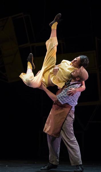 'Pinocchio' Dance performed by Jasmin Vardimon Dance Company at Sadler's Wells Theatre, London, UK