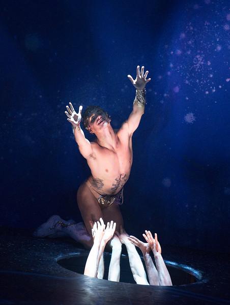 'Project Polunin' Dance performed at Sadler's Wells Theatre, London, UK
