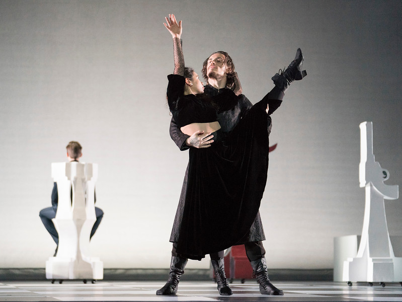 'Rasputin' Dance performed at the London Palladium, UK