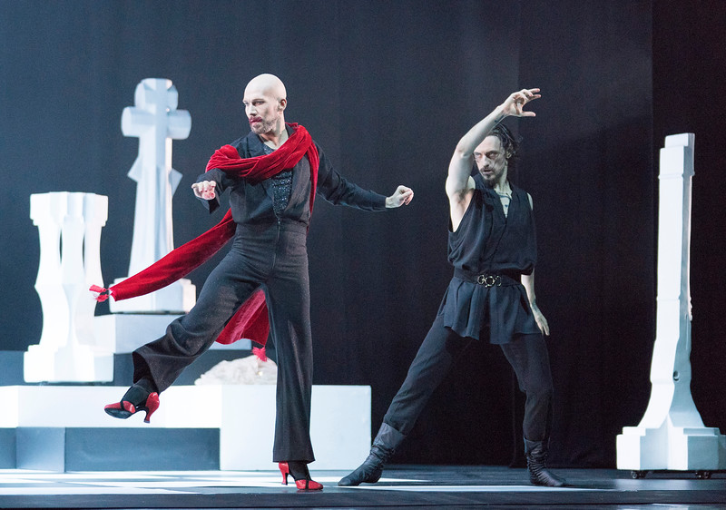 'Rasputin' Dance performed at the London Palladium, UK