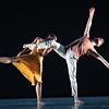 'Voices and Light Footsteps' Dance performed by Richard Alston Dance Company at Sadler's Wells Theatre, London, UK