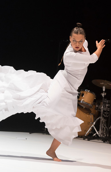 'Fallen from Heaven' Dance performed by Rocio Molina as part of Dance Umbrella at the Barbican Theatre, London, UK