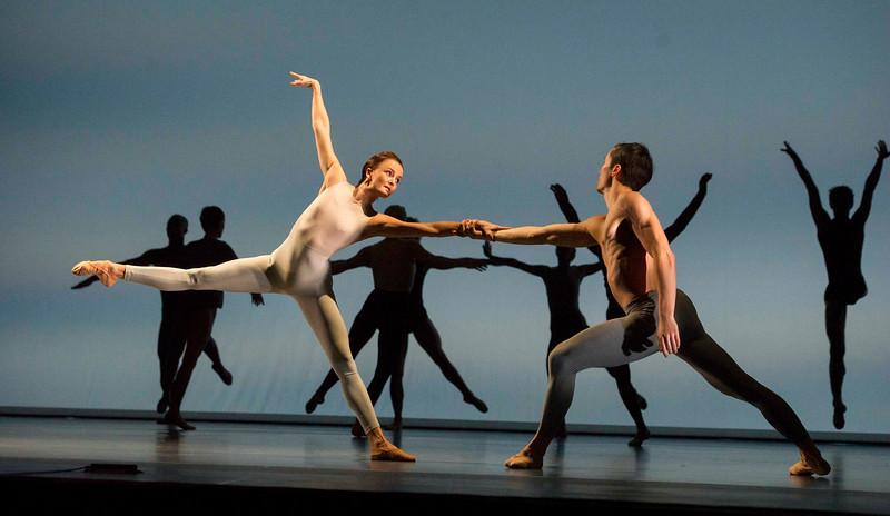 'Sampled' Dance performed at Sadler's Wells Theatre, London, UK