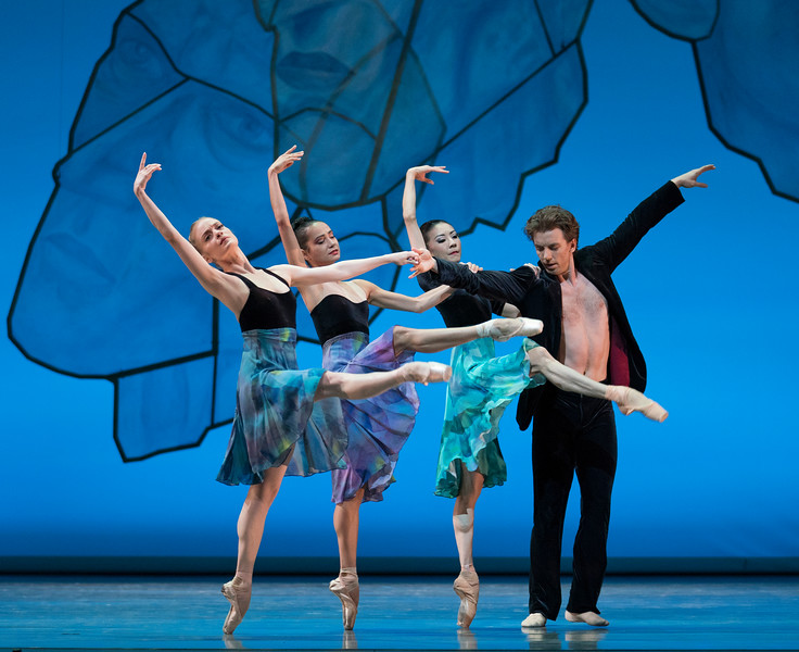 'Chamber Symphony' Performed by the San Francisco Ballet at Sadler's Wells Theatre, London, UK