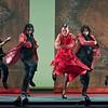 'Sombras' performed by Ballet Flamenco Sara Baras at Sadler's Wells Theatre, London, UK