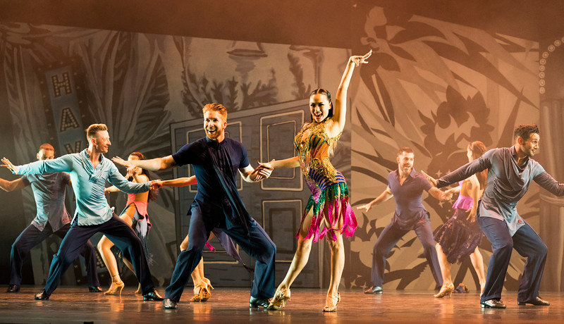 'Somnium' Dance performed at Sadler's Wells Theatre, London, UK
