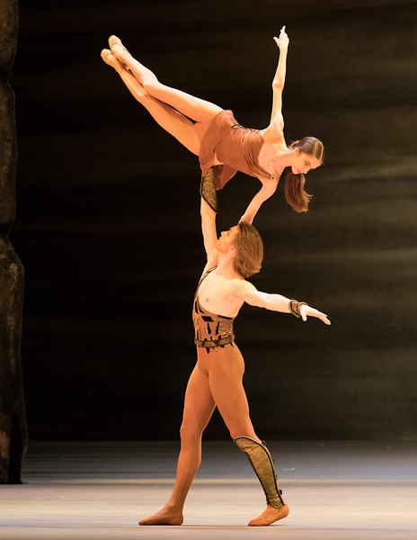 'Sparticus' Performed by the Bolshoi Ballet at the Royal Opera House, London, UK
