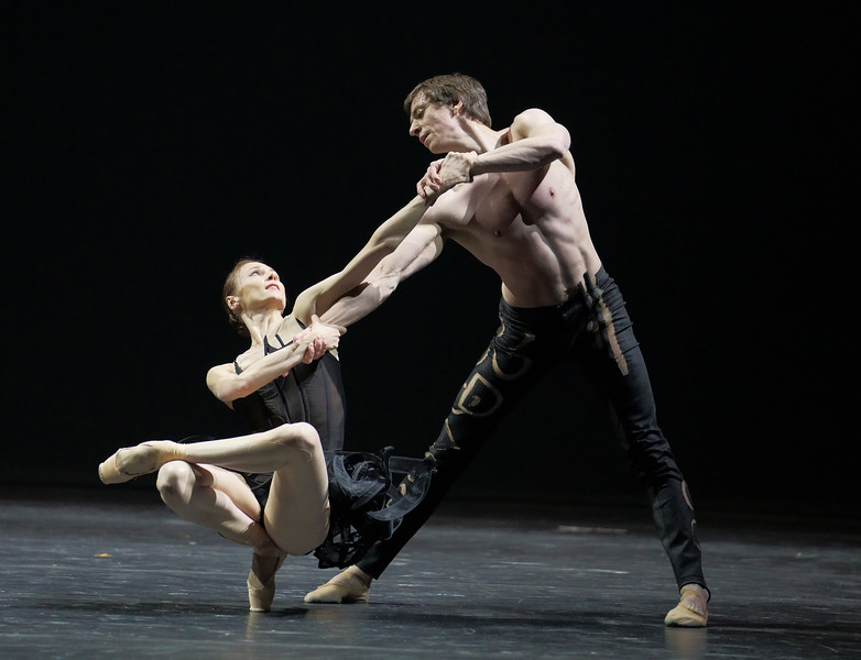 'Natalia Zakharova Company' Dance performed at the London Coliseum, UK