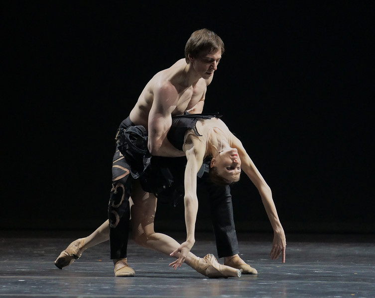 'Natalia Zakharova Company' Dance performed at the London Coliseum, UK