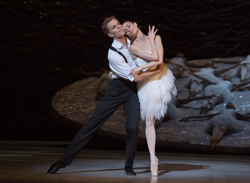 'Swan Lake' Ballet performed by the Australian Ballet at the London Coliseum, UK