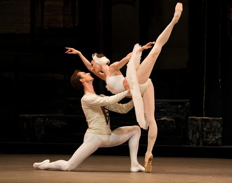 'Swan Lake' Performed by the Bolshoi Ballet at the Royal Opera House, London, UK