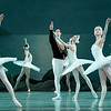 'Swan Lake' Ballet performed by the Mariinsky Ballet at the Royal Opera House, London, UK