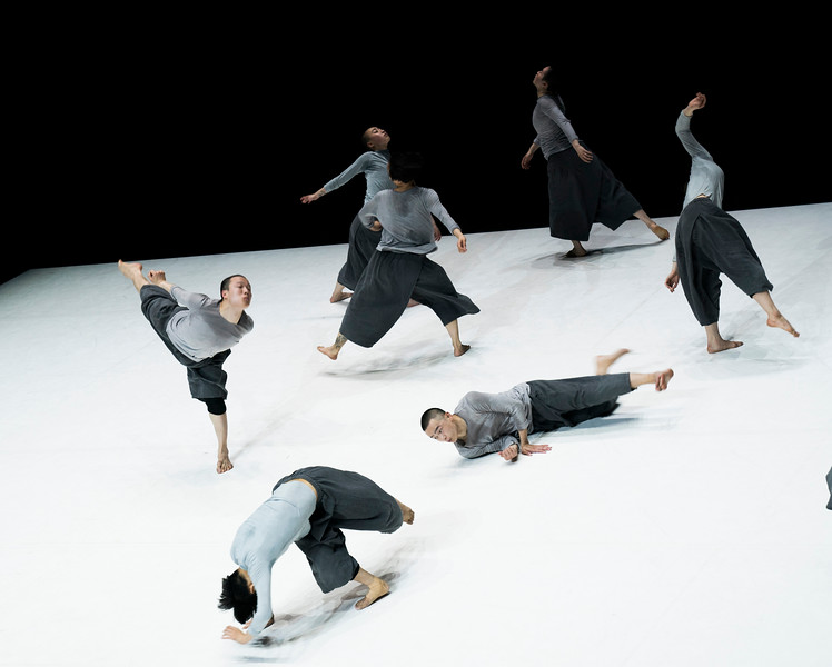 '4 & 9' performed by TAO Dance Theater at Sadler's Wells Theatre, London, UK