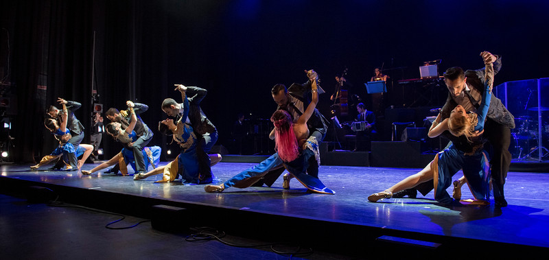 'Tango After Dark' Performed by German Cornejo at the Peacock Theatre, London, UK