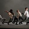 'The Associates' Dance performed at Sadler's Wells Theatre, London, UK