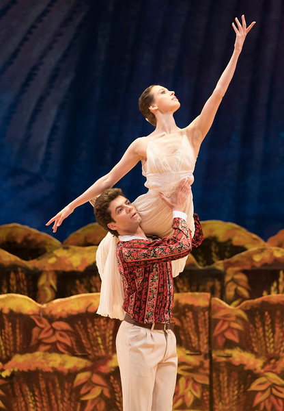 The Bright Stream performed by the Bolshoi Ballet at the Royal Opera House, London, UK