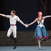 The Flames of Paris Performed by the Bolshoi Ballet at the Royal Opera House, London, UK