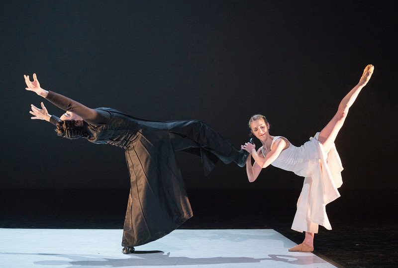 'The Kingdom of Back' Dance performed by Northern Ballet at the Linbury Theatre, Royal Opera House, London, UK