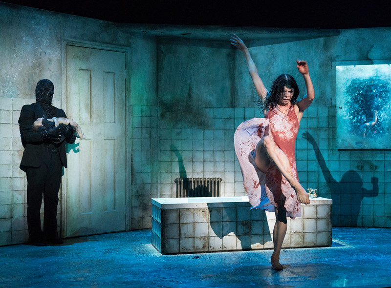 'The Mother' Dance Choreographed by Arthur Pita performed at the Queen Elizabeth Hall, London, UK