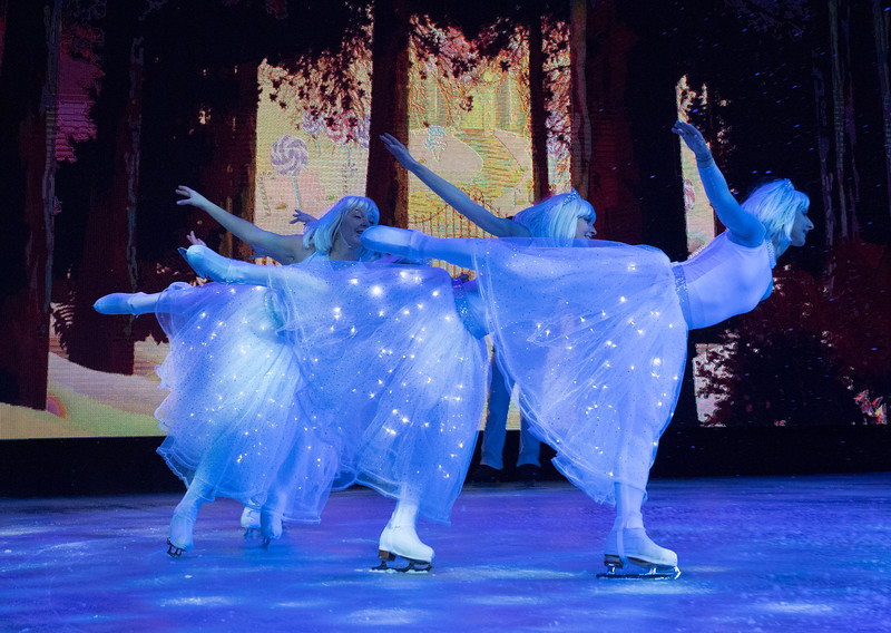 'The Nutcracker on Ice' Performed in Hyde Park Winter Wonderland, London, UK