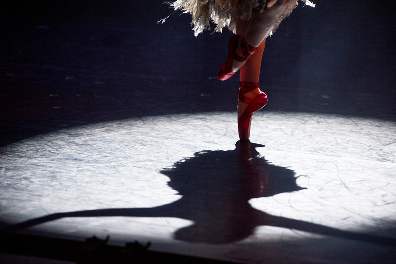 'The Red Shoes' Dance choreographed by Matthew Bourne performed Sadler's Wells Theatre, London, UK
