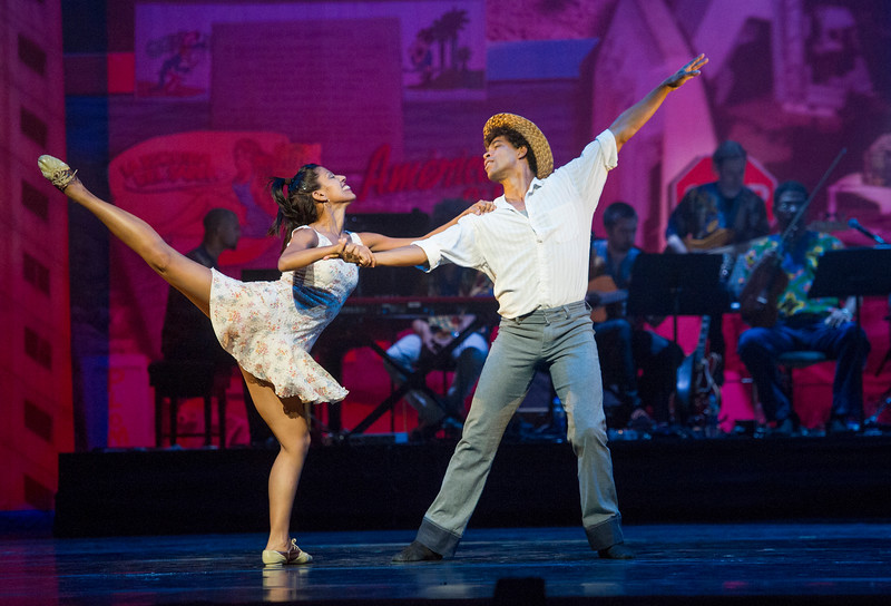 'Tocororo Suite' Choreographed by Carlos Acosta performed at the Royal Opera House, London, UK