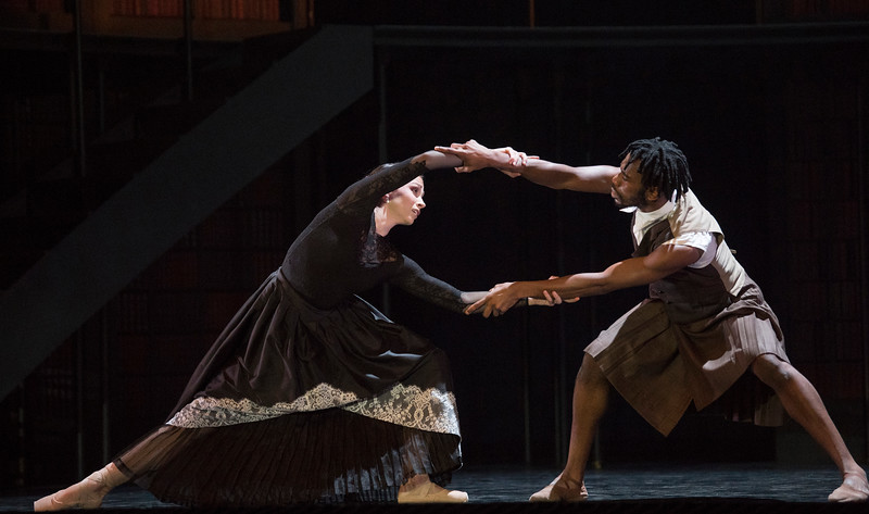'Victoria' Dance performed by Northern Ballet at Sadler's Wells Theatre, London, UK