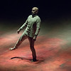 'Xenos' Dance performed by Akram Khan at Sadler's Wells Theatre, London, UK