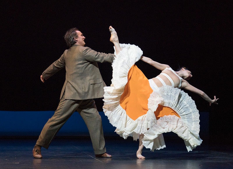 'She Persisted' Triple Bill performed by English National Ballet at Sadler's Wells Theatre, London, UK