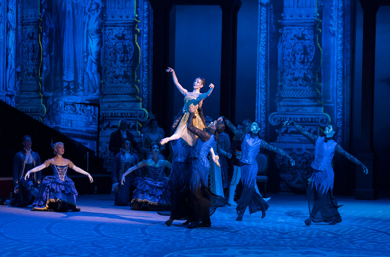 'Cinderella' Ballet performed by English National Ballet at the Royal Albert Hall, London, UK